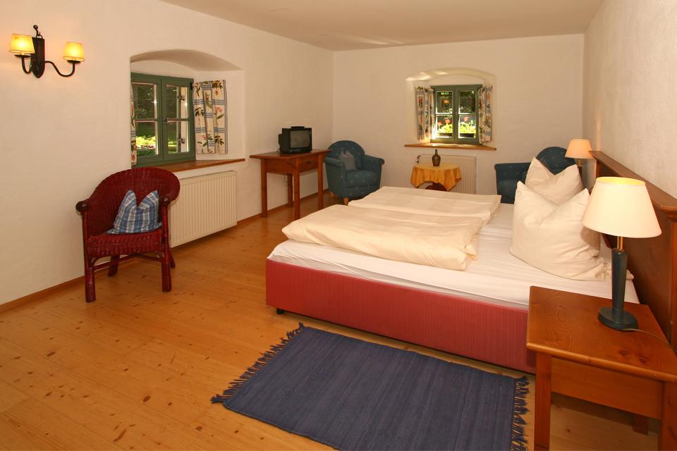 Zwieseler Waldhaus Zimmer im Altbau